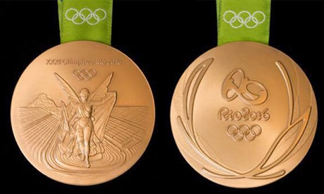 Winning a Gold Medal at the Olympics!