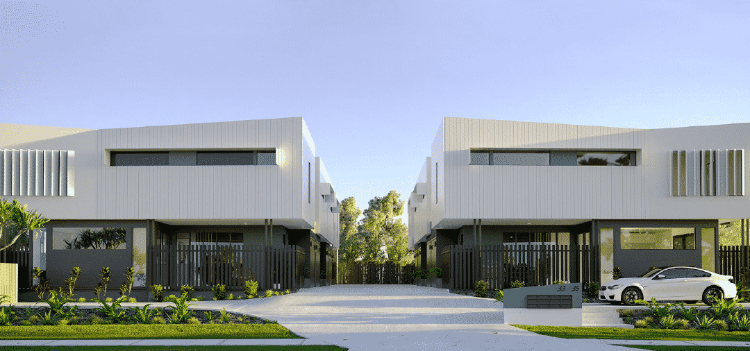 Blue-Chip Townhouses Walking Distance To Water In Maroochydore