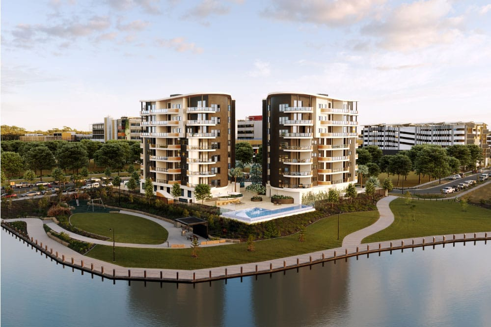 Waterfront Residences in the High Growth Oceanside Health Precinct, Sunshine Coast